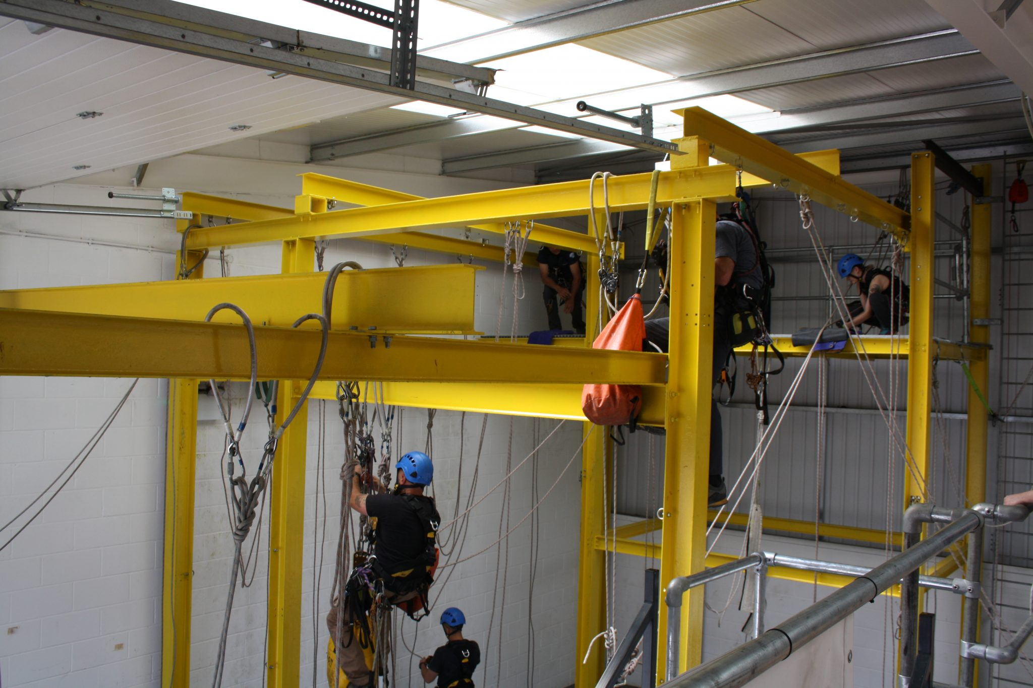Do my employees need rope access training?