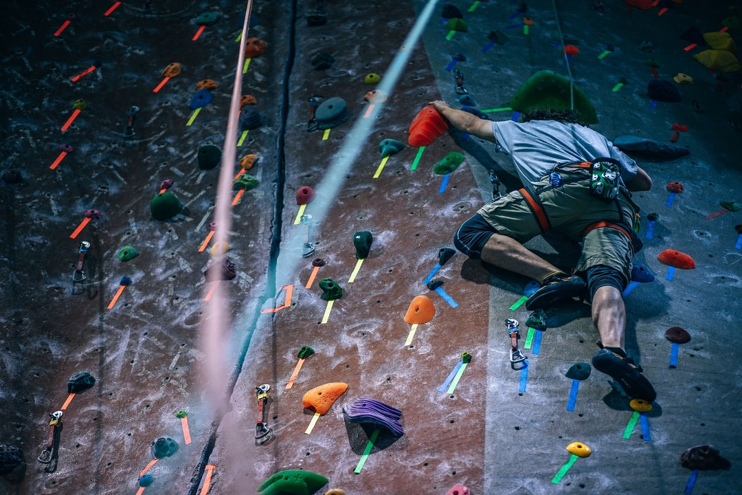 rock climbing influenced rope access