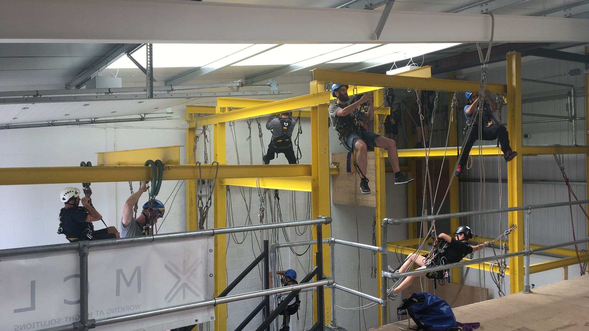 The many benefits of rope access