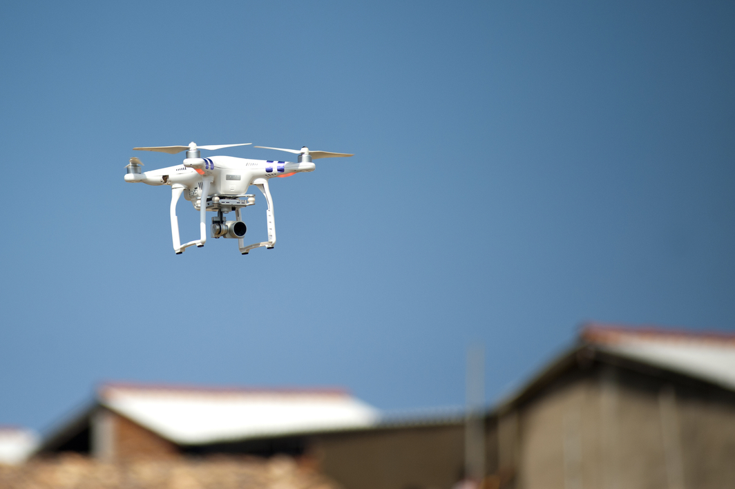 How are drones affecting rope access?