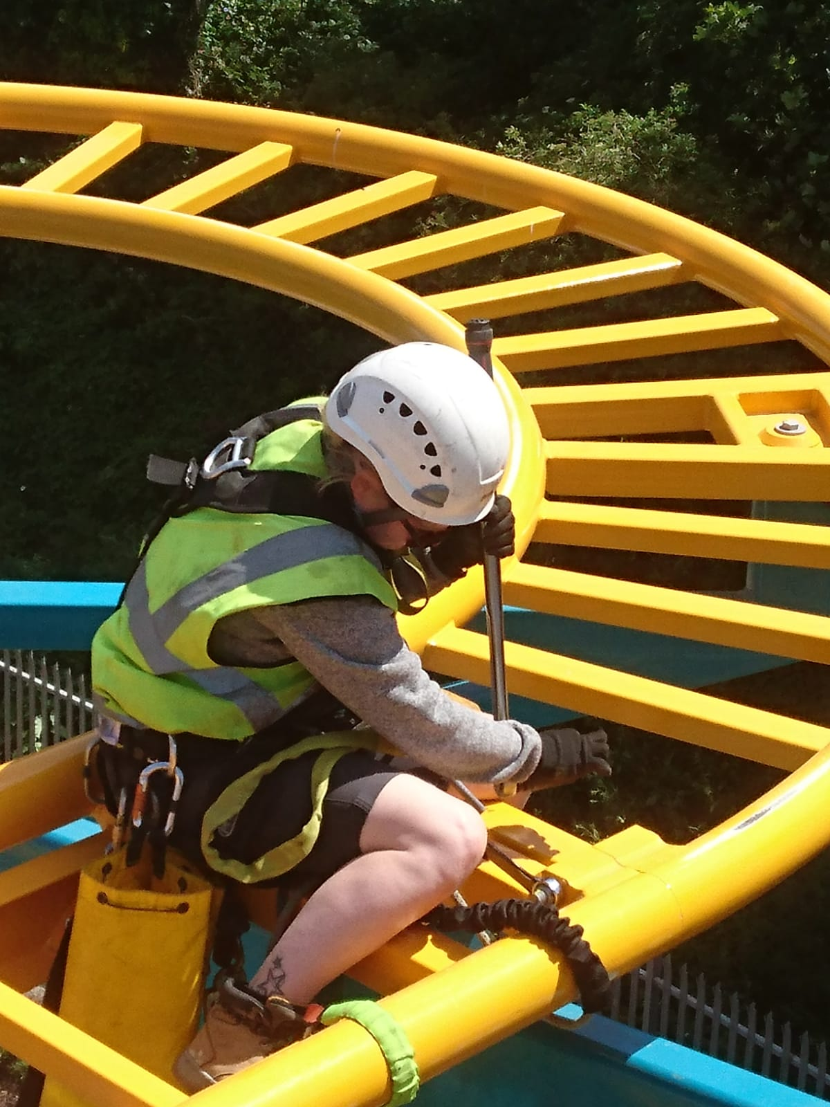 Entertainment Venuesrope access and working at height training courses and consultancy