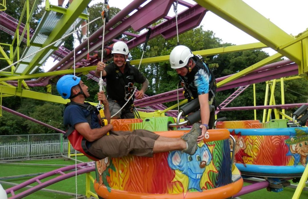 rope access and working at height training courses and consultancy for Entertainment Venues